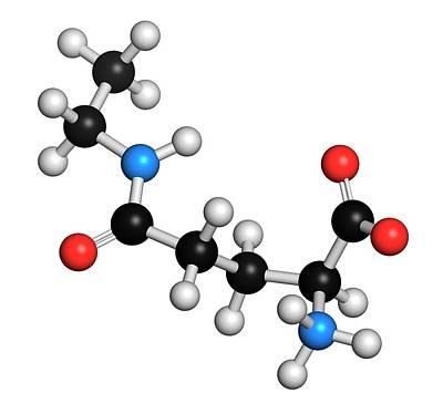 Theanine Herbal Molecule Poster by Molekuul