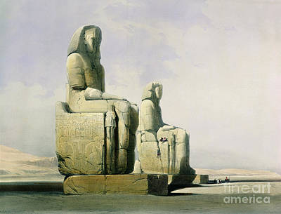 Thebes Poster by David Roberts