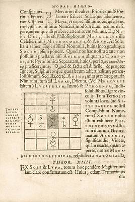 Theorem 13, Monas Hieroglyphica (1564) Poster by Library Of Congress