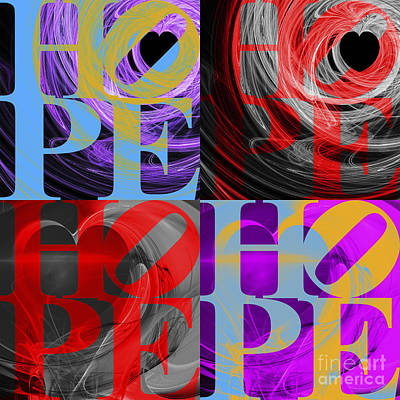 There Is Hope 20130711 Poster by Wingsdomain Art and Photography