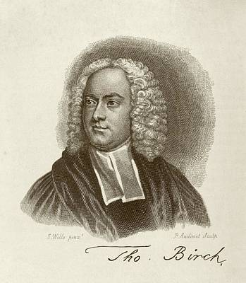 Thomas Birch Poster by Middle Temple Library