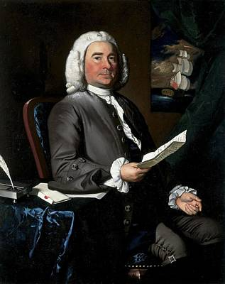 Thomas Greene, 1758 Oil On Canvas Poster by John Singleton Copley