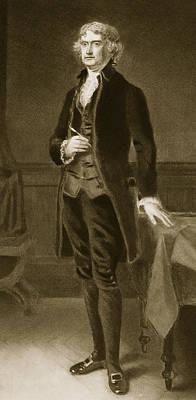 Thomas Jefferson Poster by Eliphalet Frazer Andrews