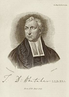 Thomas Whitaker Poster by Middle Temple Library