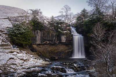 Thornton Force Waterfall. Poster by Daniel Kay