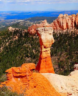 Thors Hammer Bryce Canyon Poster by Dan Sproul
