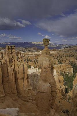 Thor's Hammer Vertical Bryce Canyon Poster by Jonathan Davison