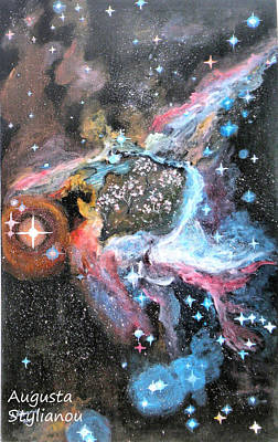 Thor's Helmet Nebula Poster by Augusta Stylianou