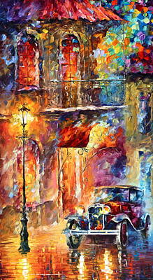 Thoughts Of My Ancestors  Poster by Leonid Afremov