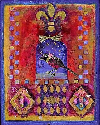 Three Dimensional Art Poster by Janet Ashworth