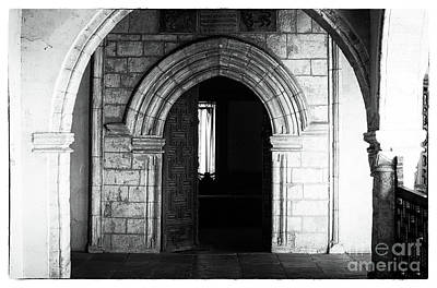 Through The Arches Poster by John Rizzuto