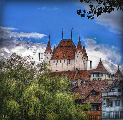 Thun Castle Poster by Hanny Heim