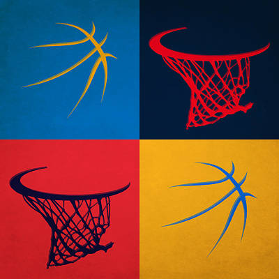 Thunder Ball And Hoop Poster by Joe Hamilton