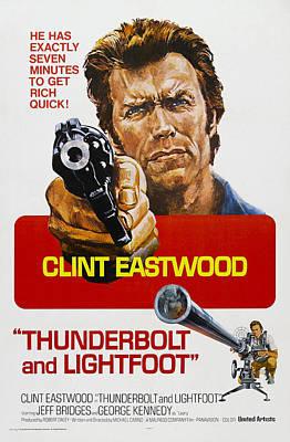 Thunderbolt And Lightfoot, Us Poster Poster by Everett