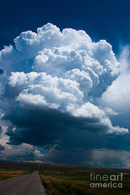 Thunderhead Poster by Stefano Carini