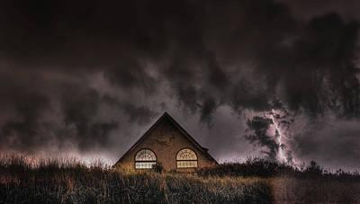 Thunderstruck  Poster by Kenny  Noddin