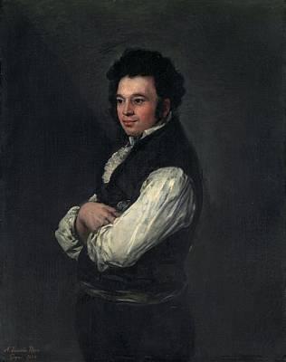 Tiburcio Perez Y Cuervo - The Architect Poster by Francisco Goya