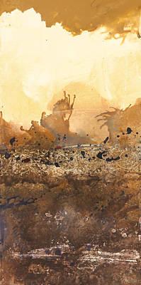 Tidal Sunrise Panel 3 Poster by Craig Tinder