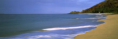Tide On The Beach, Makena Beach, Maui Poster by Panoramic Images