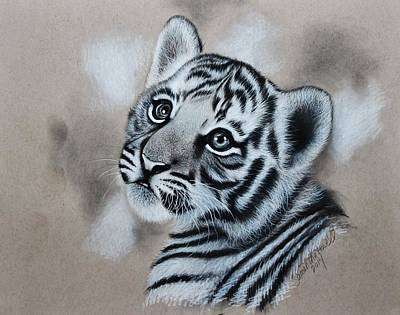 Tiger Cub Poster by Samantha Howell