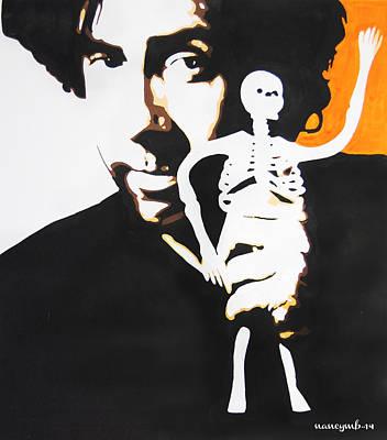 Tim Burton Poster by Nancy Mergybrower