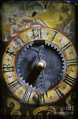 Time Poster by Bernard Jaubert