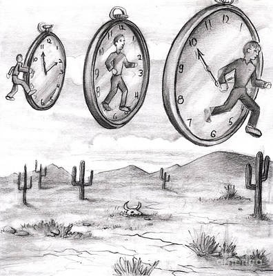 Time In To In Out Of Time Poster by Lee Serenethos