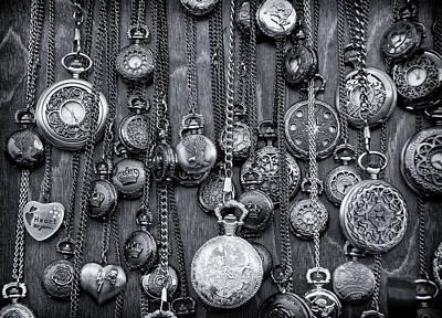 Time Poster by Kurt Golgart
