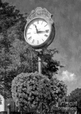 Time Stood Still 2 Bw Poster by Mel Steinhauer