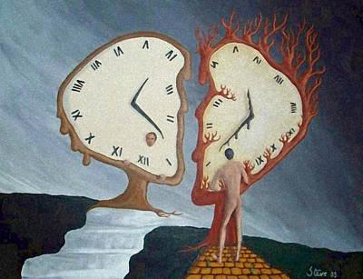 Time Travel Poster by Steve  Hester