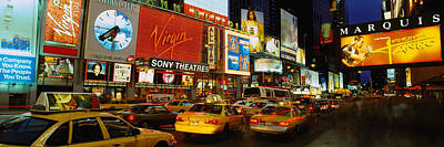 Times Square, Manhattan, Nyc, New York Poster by Panoramic Images