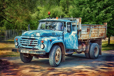 Tipper Truck Poster by Gynt
