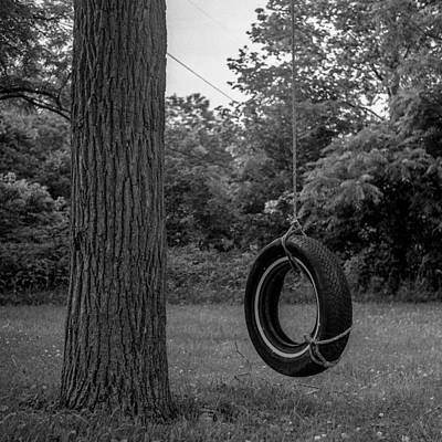 Tire Swing Poster by Alex Snay