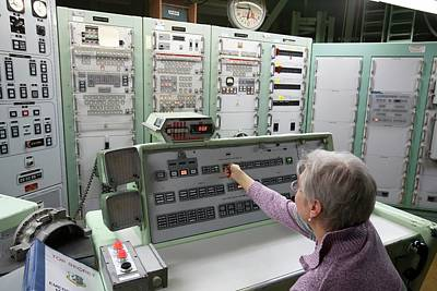 Titan Missile Control Room Poster by Jim West