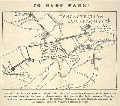 To Hyde Park Poster by British Library