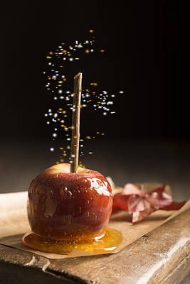 Toffee Apple Poster by Amanda And Christopher Elwell