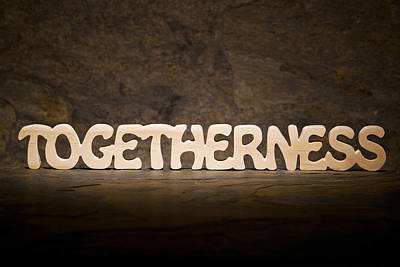 Togetherness Poster by Donald  Erickson