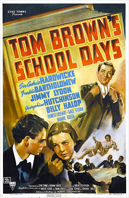 Tom Browns School Days, Us Poster Poster by Everett