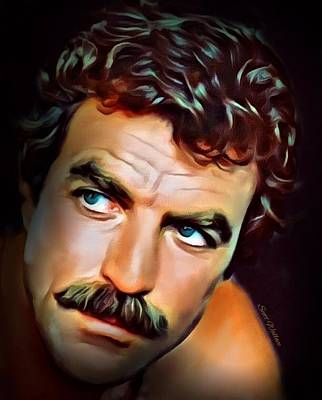 Tom Selleck Poster by Scott Wallace