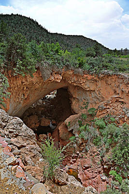 Tonto Natural Bridge Arizona Poster by Christine Till