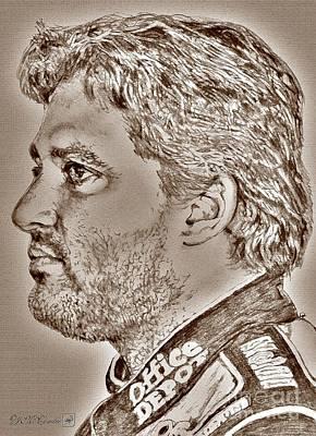 Tony Stewart In 2011 Poster by J McCombie