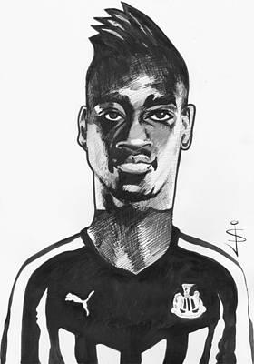 Toon Caricature - Sammy Ameobi - Forward Poster by Jan Szymczuk