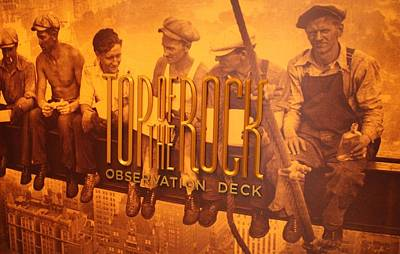 Top Of The Rock Observation Deck Poster by Dan Sproul