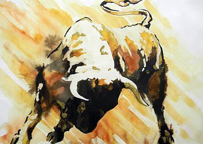 Toro Poster by Jose Espinoza