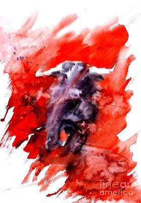 Toro Poster by Zaira Dzhaubaeva
