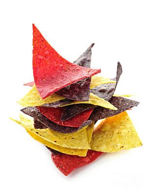 Tortilla Chips Poster by Elena Elisseeva