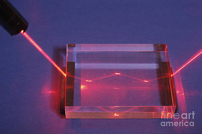 Total Internal Reflection Poster by GIPhotoStock