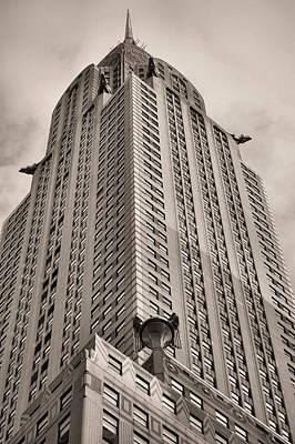Towering Bw Poster by JC Findley