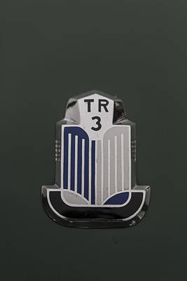 Tr3 Hood Ornament 2 Poster by Scott Campbell
