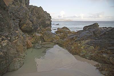 Tranquility Keem Beach Ireland Poster by Betsy C Knapp